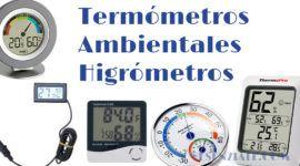Mejores Termómetros Ambientales o Higrómetros
