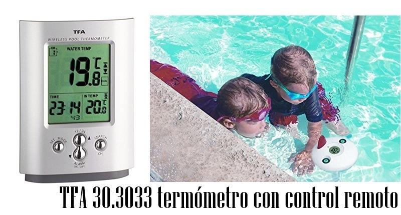 TFA 30.3033 termómetro con control remoto