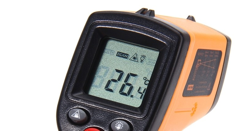 termómetros infrarrojo