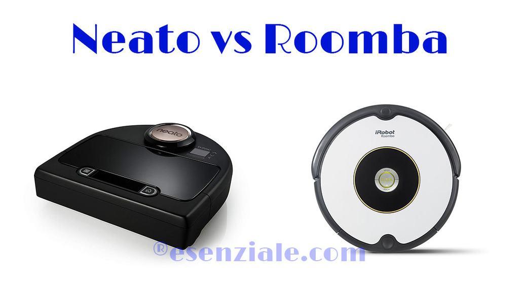 Comparativa entre neato y Roomba iRobot