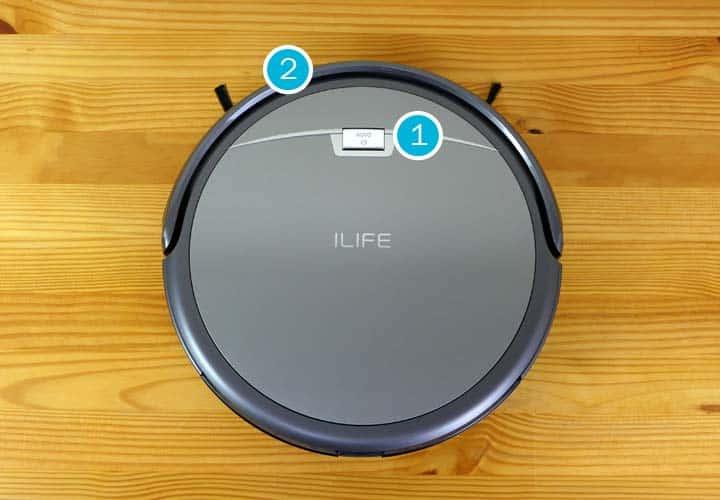 botones del iLife a4s