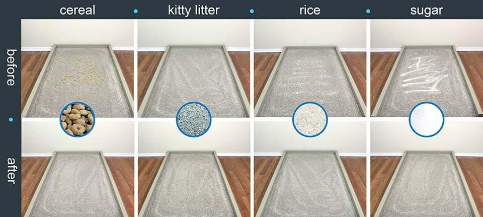 prueba a iLife en alfombras de pelo largo